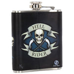 James Ryman Hell Rider Hip Flask | Angel Clothing