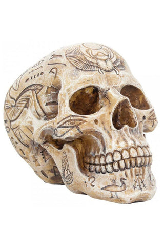 Hieroglyphic Skull 15cm | Angel Clothing