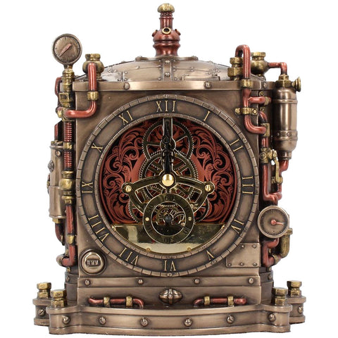Horologist Steampunk Clock 20cm | Angel Clothing