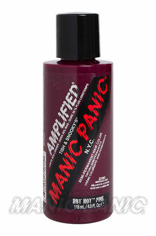 Manic Panic Amplified Hair Colour 118ml Hot Hot Pink | Angel Clothing