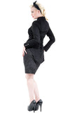 H&R London Ladies Fitted Military Tailcoat | Angel Clothing