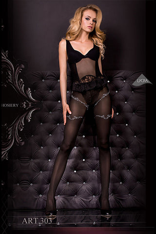 Hush Hush By Ballerina Tights - 303 - Angel Clothing