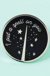 Punky Pins I Put a Spell on You Enamel Pin | Angel Clothing