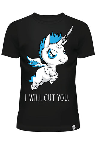 Cupcake Cult I Will Cut You T-Shirt | Angel Clothing
