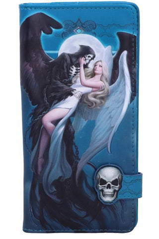 James Ryman Angel and The Reaper Embossed Purse | Angel Clothing