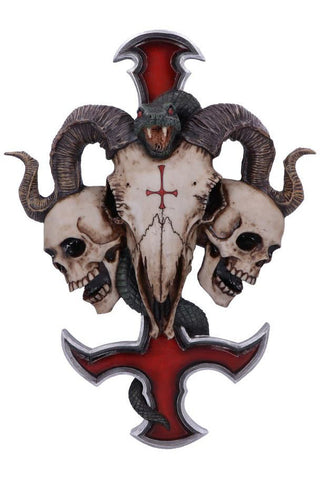 James Ryman Devils Cross Wall Plaque | Angel Clothing