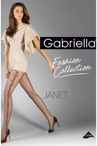 Gabriella Janet Tights Black | Angel Clothing
