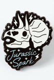 Punky Pins Jurassic Spark Dinosaur Enamel Pin | Angel Clothing