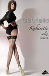 Gabriella Kabaretta Calze 155-223 Hold Ups Nero | Angel Clothing