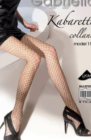 Gabriella Kabatetta Collant 153-231 Tights Nero | Angel Clothing