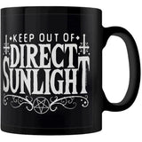 Keep Out Of Direct Sunlight Mug | Angel Clothing