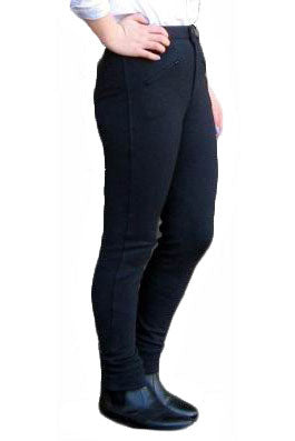 Ladies Classic Black Jodphurs | Angel Clothing