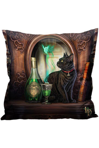 Lisa Parker Absinthe Cat Cushion | Angel Clothing