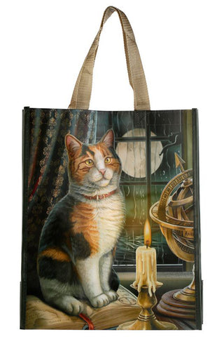 Lisa Parker Adventure Awaits Cat Shopping Bag | Angel Clothing