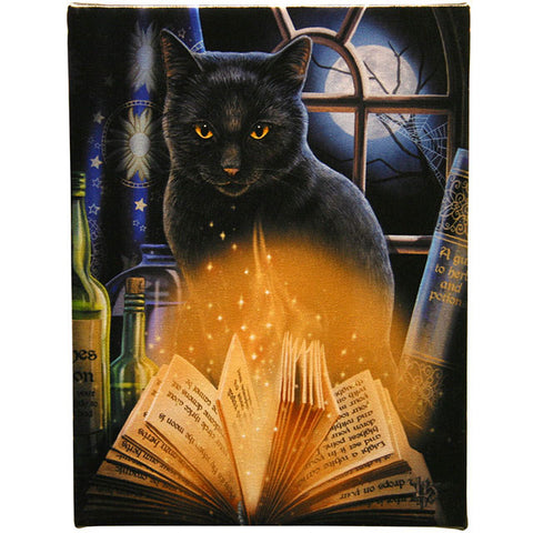 Lisa Parker - Bewitched Gothic Cat Picture 19cm x 25cm | Angel Clothing
