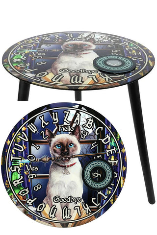 Lisa Parker Hocus Pocus Glass Spirit Board Table | Angel Clothing