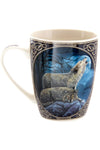 Lisa Parker Howling Wolf Mug | Angel Clothing