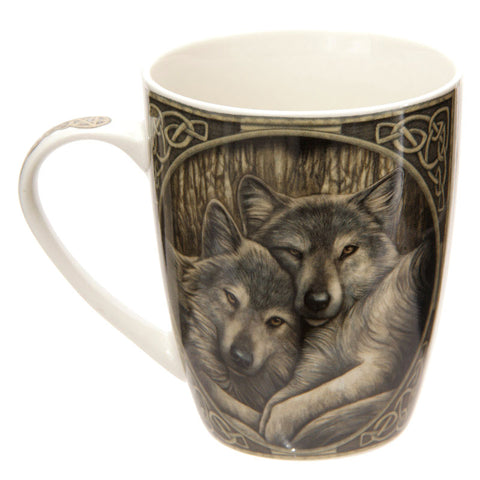 Lisa Parker Loyal Companions Wolf  Bone China Mug | Angel Clothing
