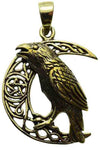 Lisa Parker Raven Moon Pendant Bronze | Angel Clothing