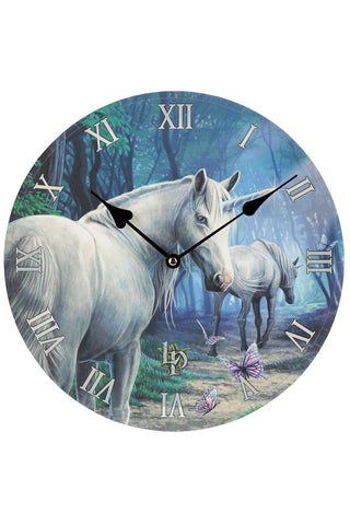 Lisa Parker The Journey Home Unicorn Clock | Angel Clothing