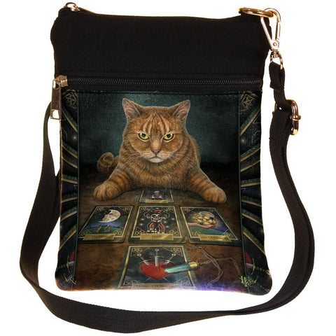 Lisa Parker The Reader Tarot Cat Shoulder Bag | Angel Clothing