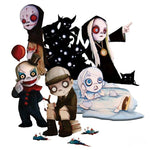 Living Dead Dolls Two Inch Collectible Figurines Series 2 | Angel Clothing