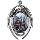 Anne Stokes Look To The East Necklace | Angel Clothing