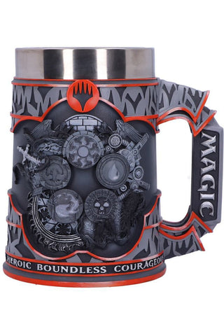 PRE-ORDER Magic the Gathering Five Colour Wheel Tankard | Angel Clothing