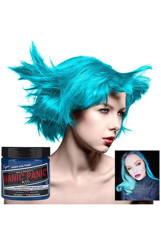 Manic Panic Atomic Turquoise Hair Dye | Angel Clothing