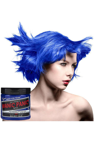 Manic Panic Bad Boy Blue Hair Dye | Angel Clothing