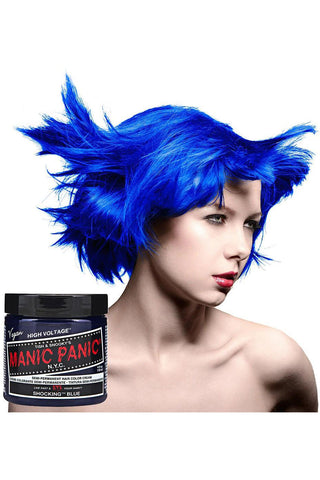 Manic Panic Shocking Blue Hair Dye | Angel Clothing