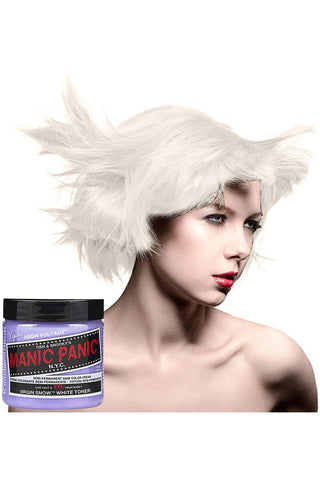 Manic Panic Virgin Snow Hair Dye | Angel Clothing