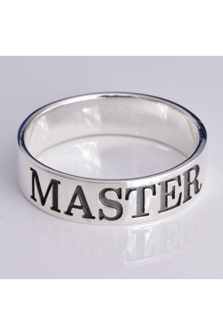 Sterling Silver Master Ring