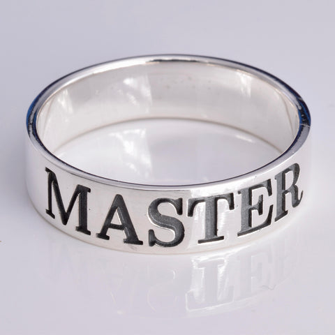 Sterling Silver Master Ring | Angel Clothing