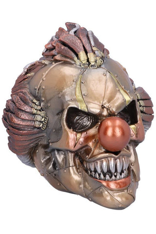 PRE-ORDER Mechanical Laughter Steampunk Clown Skull | Angel Clothing