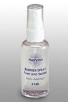 Mehron Makeup  Barrier Spray 2oz | Angel Clothing