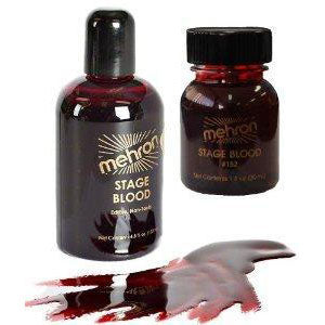 Mehron  Theatrical  Blood 16oz | Angel Clothing