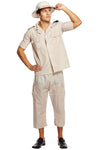 Mens Safari Steampunk Explorer Costume | Angel Clothing