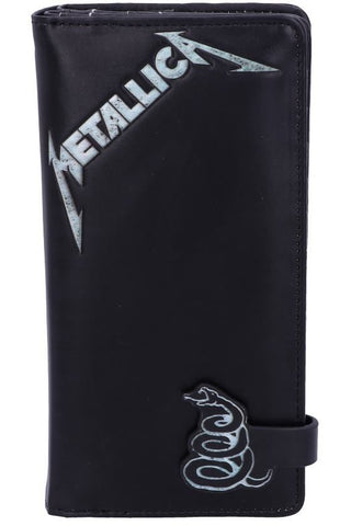 Metallica Black Album Embossed Purse