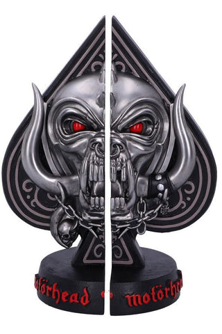 PRE-ORDER Motorhead Ace of Spades Bookends | Angel Clothing