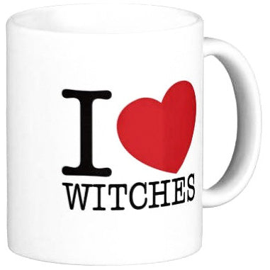 Mug - I Love Witches - Angel Clothing