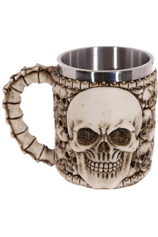 Multiple Skull Tankard | Angel Clothing