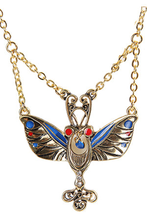 Mystica Egyptian Butterfly Necklace | Angel Clothing