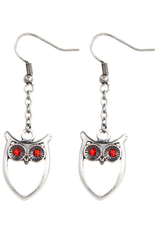 Mystica Owl Earrings | Angel Clothing