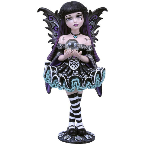 Mystique Little Shadows Fairy Figurine with Crystal Ball | Angel Clothing