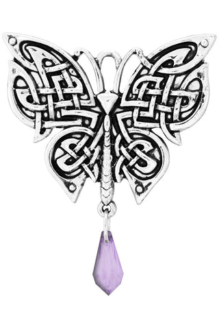 Celtic Morrigans Moth Butterfly Necklace | Angel Clothing