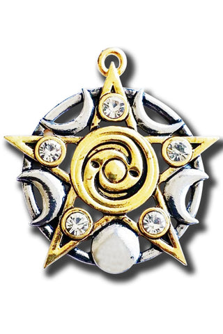 Celtic Star Of Skellig Pendant | Angel Clothing