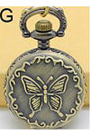 Butterfly Necklace Steampunk Pocket Watch | Angel Clothing