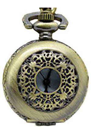 Necklace Steampunk Bow Pocket Watch PW-K | Angel Clothing
