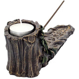 Wildwood Incense and Tealight Holder | Angel Clothing